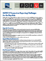 TABBForum MiFID II Transaction Reporting Challenges for the Buy-Side