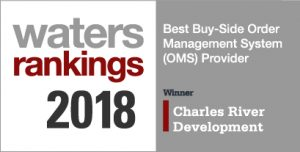 Waters Technology Rankings 2018 Winner Best Buy-Side Order Management System (OMS) Provider
