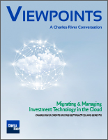 Viewpoints - Migrating and Managing Investment Technology in the Cloud THUMBNAIL