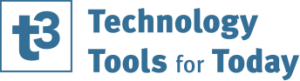 Technology Tools For Today (T3) Logo