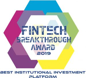 FinTech Breakthrough Awards Best Institutional Investment Platform