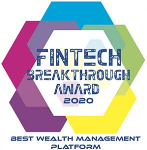 FINTECH Breakthrough Award 2020 Best Wealth Management Platform