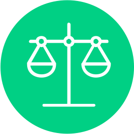 Balanced Investments Icon Green