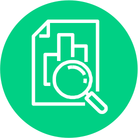 Transparency Search Icon Green